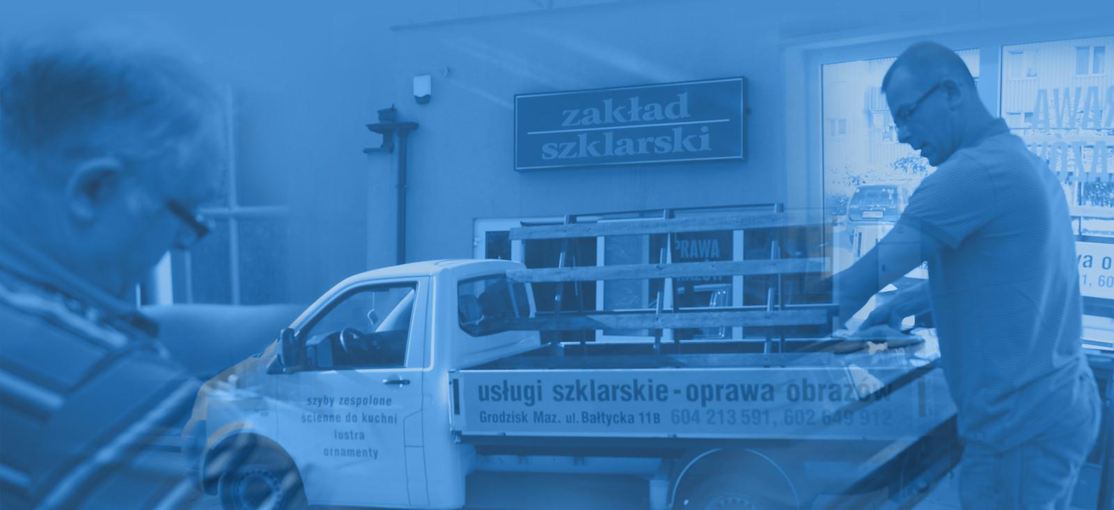 Usługi szklarskie - Grodzisk Mazowiecki